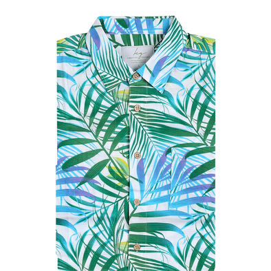 Bamboo Fibre Rainforest Short Sleeve Shirt