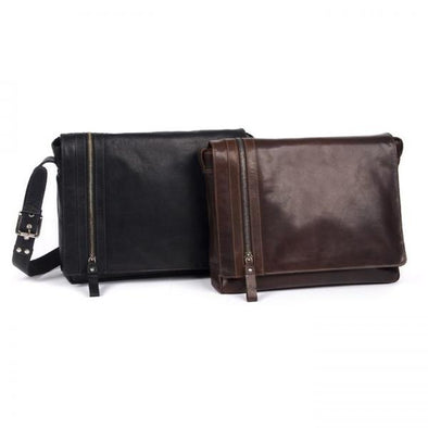 Phil Leather Laptop Satchel