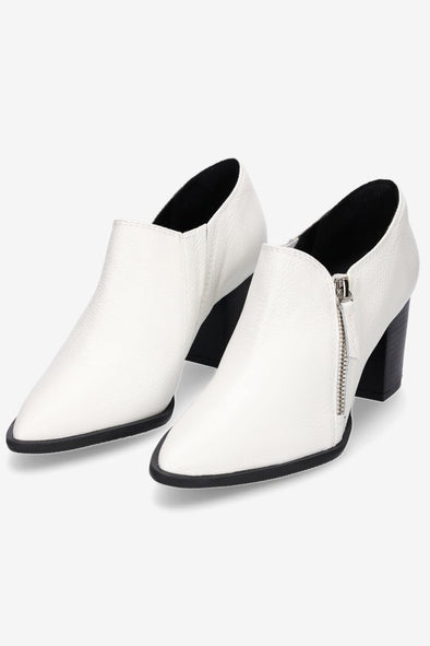 Hey Monday Pierre White Ankle Boot