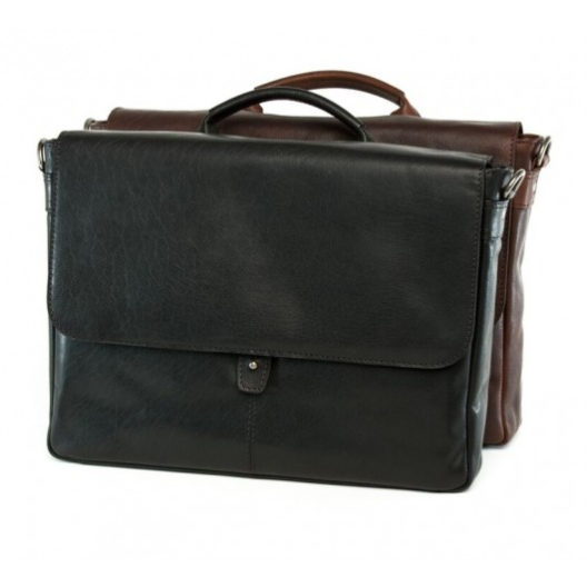 Pretoria Leather Business Handled Satchel