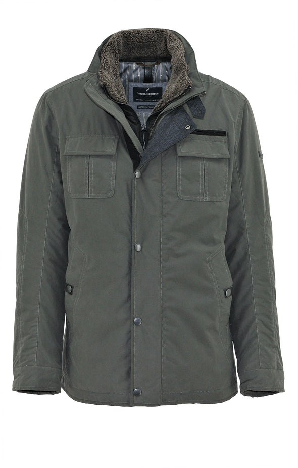 Everest Double Zip Forest Jacket
