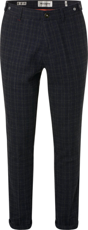 No Excess Yarn Dyed Woven Check Dress Pant
