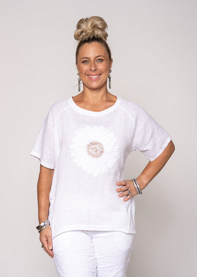 Rosie Top - White