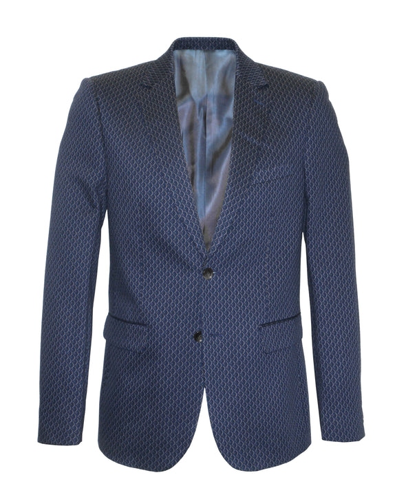 Cutler & Co Scale Print Bryant Blazer