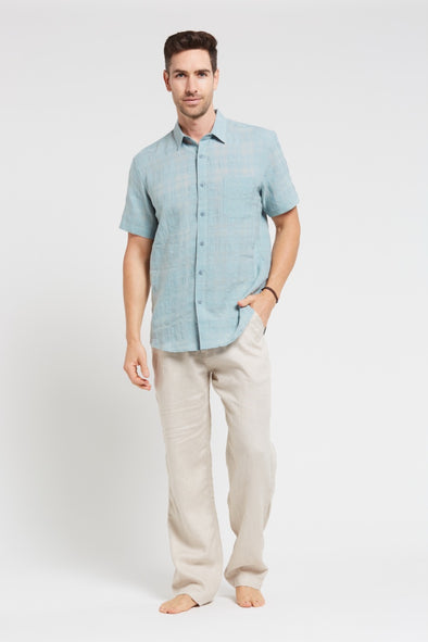 Braintree Hemp Short Sleeve Shirt - Mint
