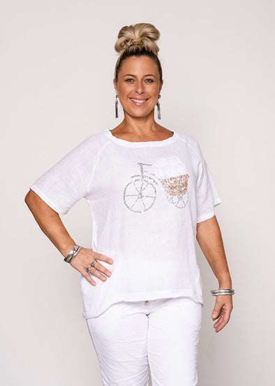 Roxana Top - White