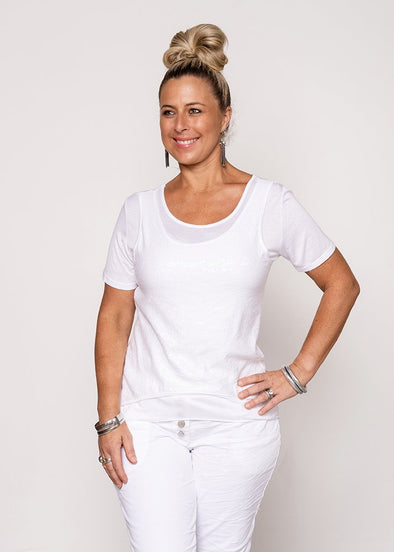 Kazz Top - White