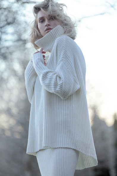 dref-by-d - Ice Sweater Ivory