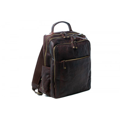 Mike Leather Backpack
