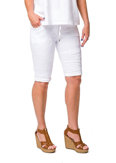 Lorell Shorts - White