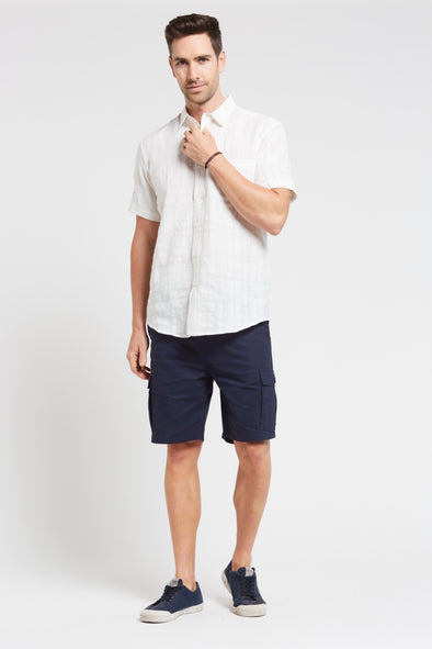 Braintree Hemp Short Sleeve Shirt - White
