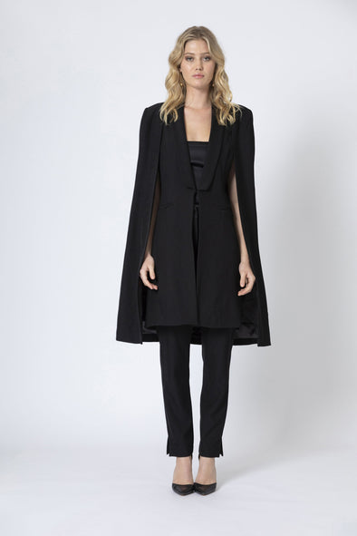 Alexis Long Black Coat