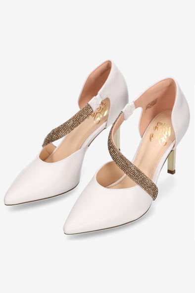 Hey Monday Lulu Heel - White