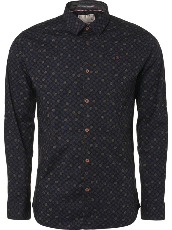 No Excess Spot & Dot L/S Shirt