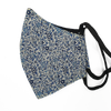 Liberty Art Merino Lined Face Mask - Tiny Blue Floral