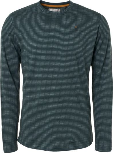 No Excess Long Sleeve 100% Cotton Shirt - Seagreen