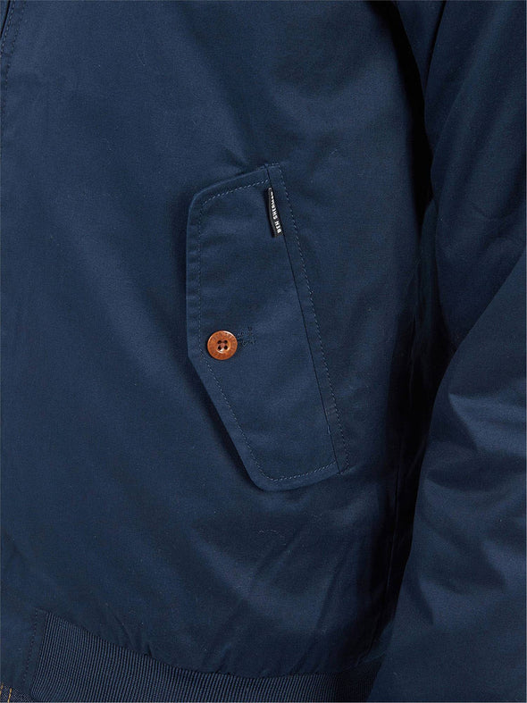 Ben Sherman Sea Blue Harrington Jacket