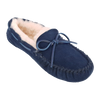 Ladies Sheepskin & Suede Moccasin