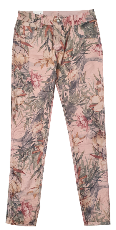 Womens Reversible Jeans - Pink & Lillies