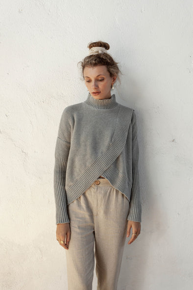 Bird & Kite Paolo Jumper - Silver