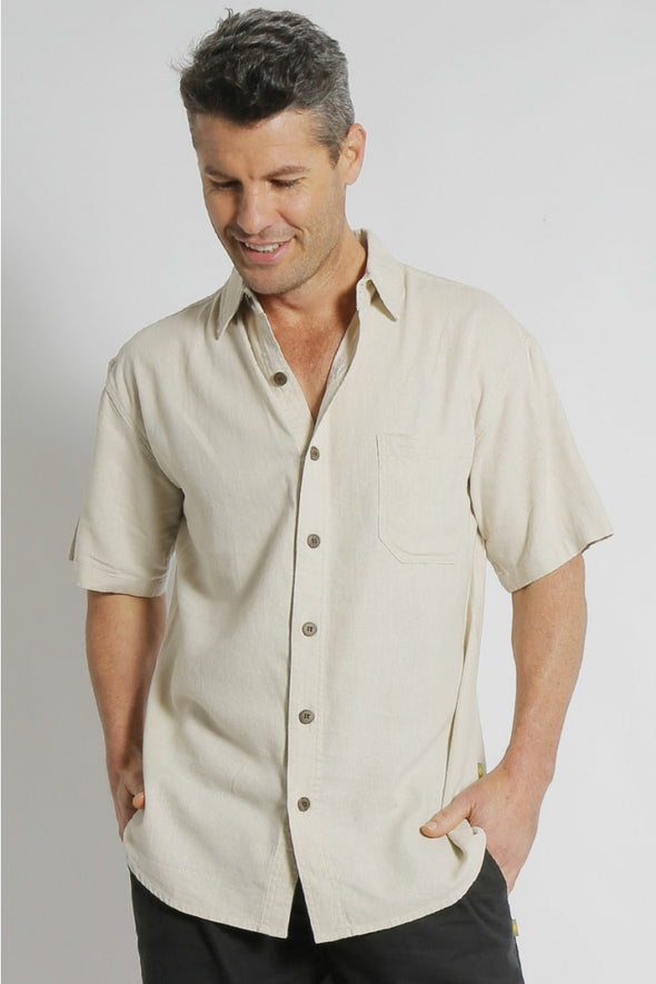Hemp Relax Short Sleeve Shirt
