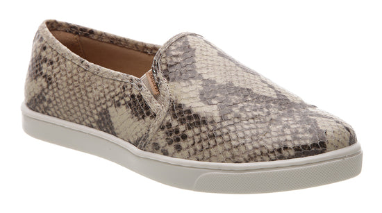 Slip On Snakeskin Trainer