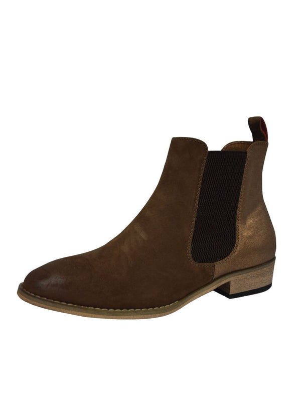 Chelsea Boot -  Leather Hide Bronze Two Tone