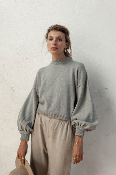 Bird & Kite Salvador Jumper - Silver
