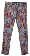 Womens Reversible Jeans - Navy & Tropics