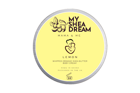 Mama & Me Shea Body Butter - Lemon