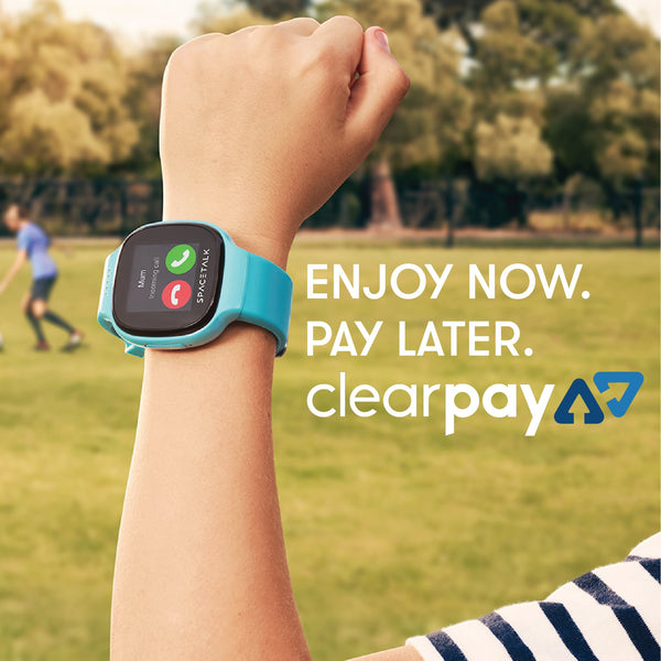 Enjoy SPACETALK now, pay with Clearpay later!
