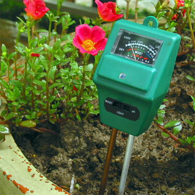 3 in 1 Soil PH Meter Flower Pot Hygrometer Soil Tester