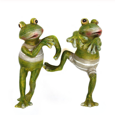 Creative Climbing Frogs Garden Decor Ornament
