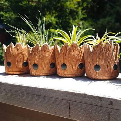 Baby Groot Air Plant Planter Pots