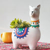 Cute Lama Planter Pot