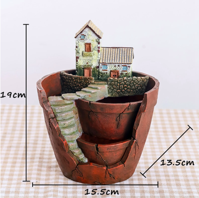 Creative Resin Decorative Succulent Plant Pot