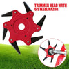 6 Steel Blade Head Lawn Trimmer