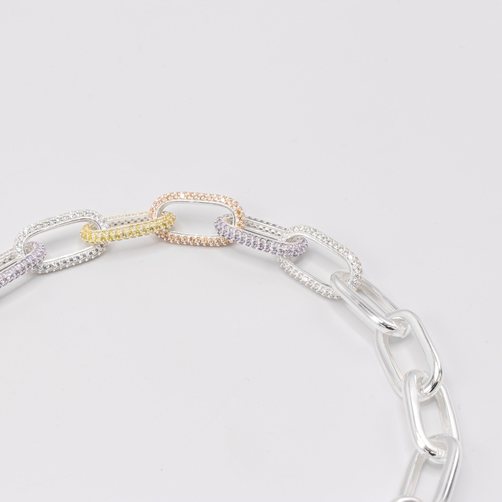 Cable Chain Colored (925)