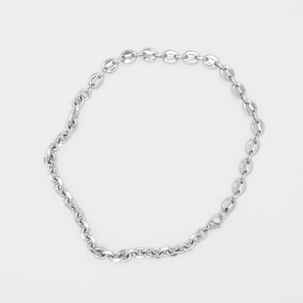 Cable/Puff Chain Silver