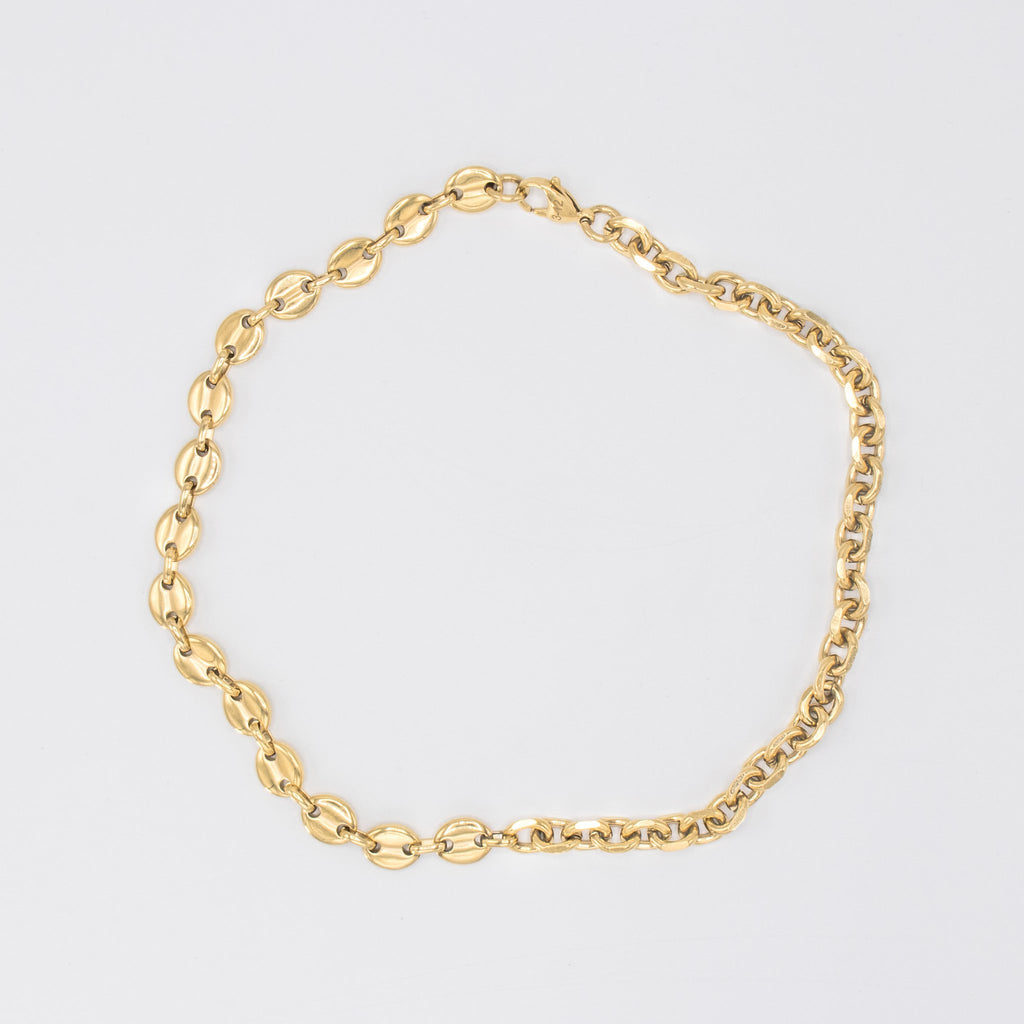 Cable/Puff Chain Gold
