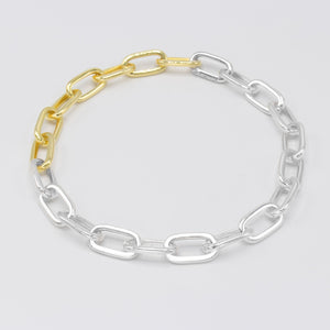 cable chain silver/gold (925)