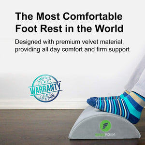 Foot Rest Under Desk (Grey)