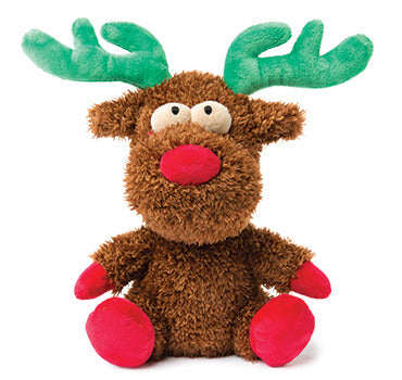 FuzzYard Christmas Rocky Reindeer Dog Toy large.