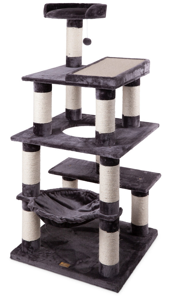Kazoo 5 level Cat Scratcher all grey.
