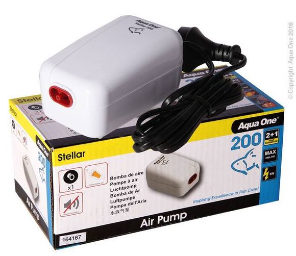 Aqua One Stella Air Pump 200.