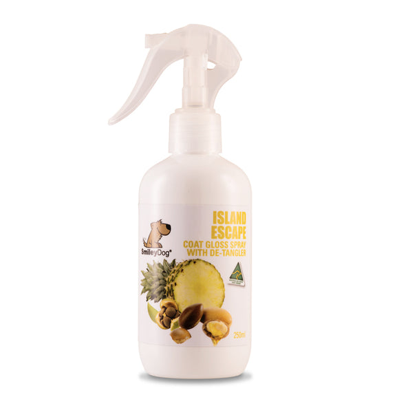 SmileyDog-Island Escape De-Tangler / Coat Gloss Spray 250ml.