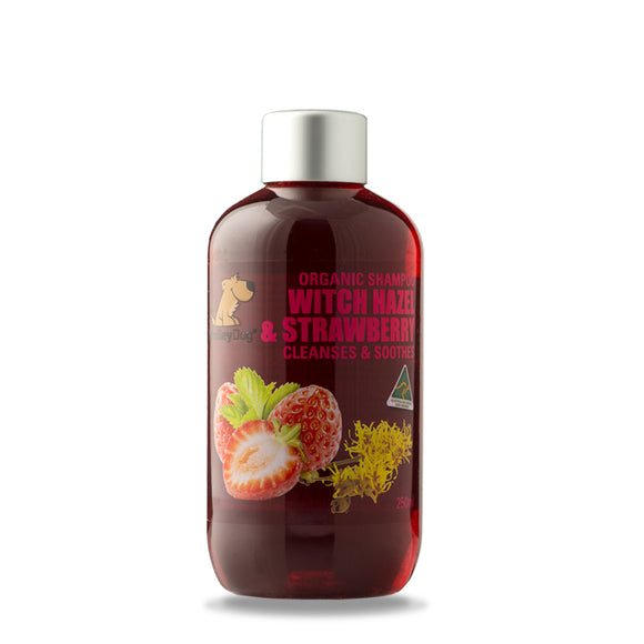 SmileyDog-Witch Hazel & Strawberry Pro-Sensitive - Cleanses & Soothes 250ml.