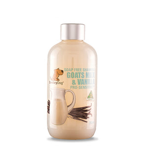SmileyDog-Goats Milk And Vanilla Pro-Sensitive Natural Shampoo 250ml.