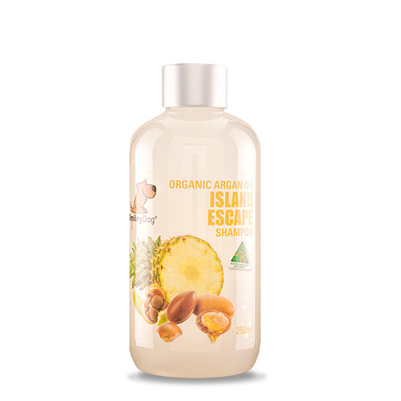 SmileyDog-Organic Argan Oil Island Escape Shampoo 250ml.
