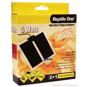 Reptile One 5Watt Heat Mat.